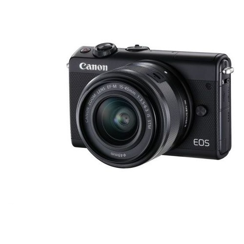 Фотоаппарат CANON EOS M100 kit ( 15-45 IS STM), черный [2209c012]
