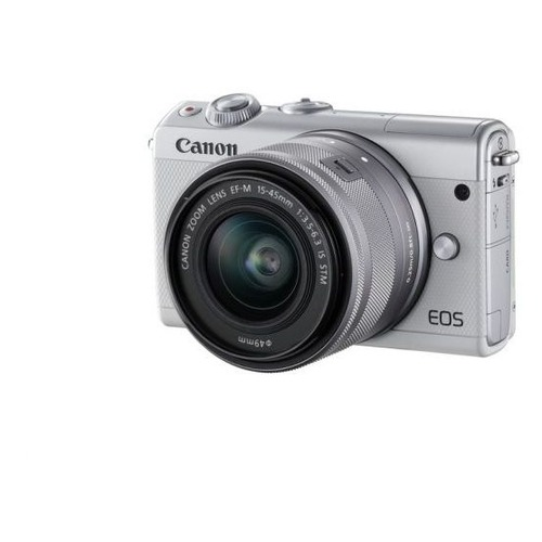 Фотоаппарат CANON EOS M100 kit ( 15-45 IS STM), белый [2210c012]