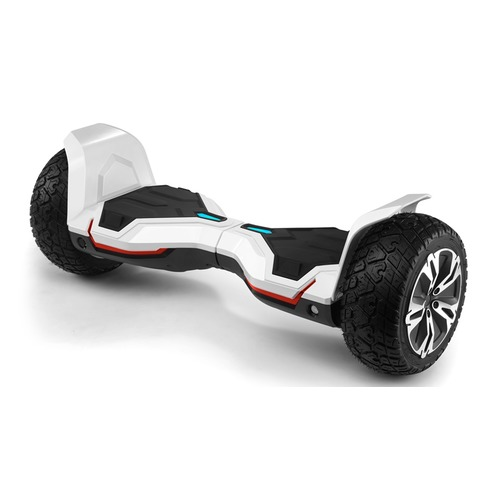 "Гироскутер CACTUS CS-GYROCYCLE_AR2_WT, 8.5"", черный/белый"