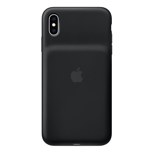 Внешний мод батарея Apple Smart Battery Case для Apple iPhone XS Max Lightning черный (MRXQ2ZM/A)