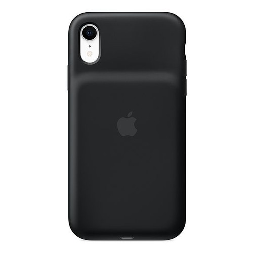 Внешний мод батарея Apple Smart Battery Case для Apple iPhone XR Lightning черный (MU7M2ZM/A)