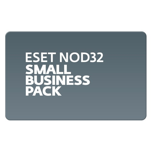 Базовая лицензия (карта) Eset NOD32 NOD32 Small Business Pack newsale for 10 user 1 год (NOD32-SBP-N