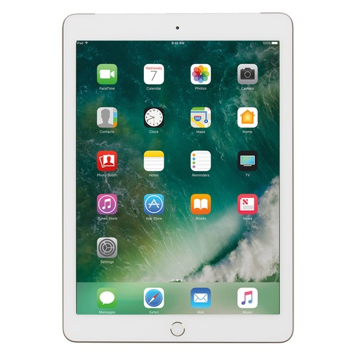 Планшет APPLE iPad 128Gb Wi-Fi + Cellular MPG52RU/A, 2GB, 128GB, 3G, 4G, iOS золотистый