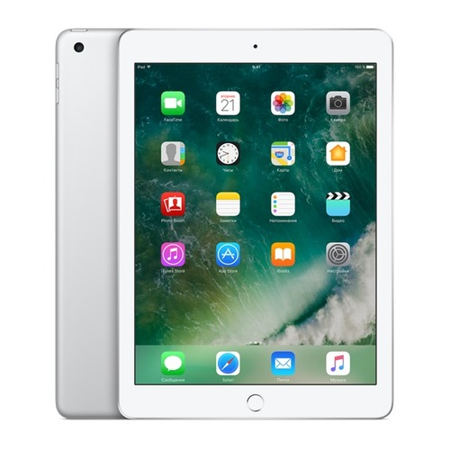 Планшет APPLE iPad 128Gb Wi-Fi MP2J2RU/A, 2GB, 128GB, iOS серебристый