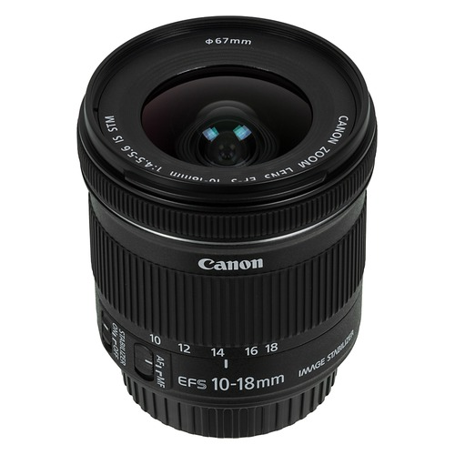 Объектив CANON 10-18mm f/4.5-5.6 EF-S IS STM, Canon EF-S [9519b005]